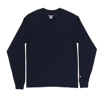 CHAMPION LONG SLEEVE TAGLESS TEE