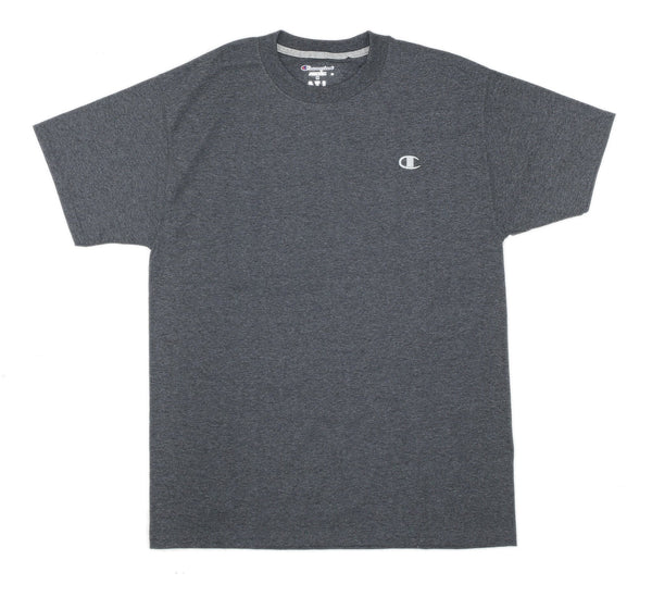 CHAMPION JERSEY TEE, GRANITE HEATHER