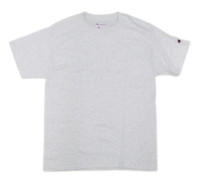 CHAMPION TAGLESS TEE, ASH