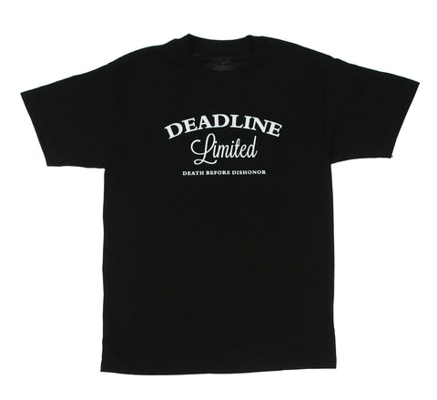DEATH BEFORE DISHONOR TEE, BLACK
