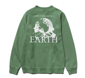EARTH ACCESS CREWNECK