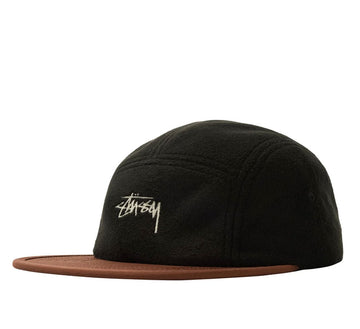 FLEECE NYLON MIX CAMP CAP