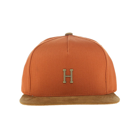 SMALL METAL H STRAPBACK