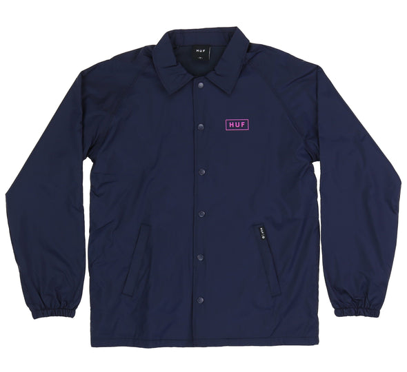 BAR LOGO COACHES JACKET