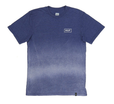 BAR LOGO DIPPED HEATHER TEE
