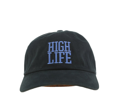 HIGH LIFE X-JAY DAD HAT, BLACK