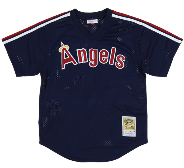 CALIFORNIA ANGELS 1984 REGGIE JACKSON #44 BATTING PRACTICE JERSEY