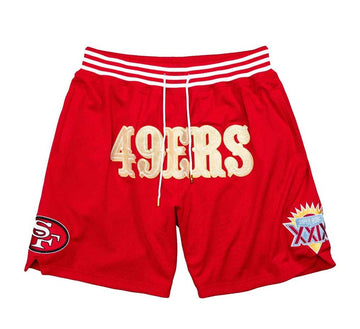 JUST DON CALI GOLD RUSH SHORT SAN FRANCISCO 49ERS