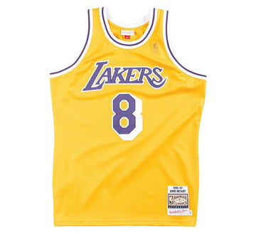AUTHENTIC JERSEY LOS ANGELES LAKERS HOME 1996-97 KOBE BRYANT
