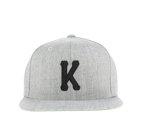 KINGS K SNAPBACK, GREY/BLACK