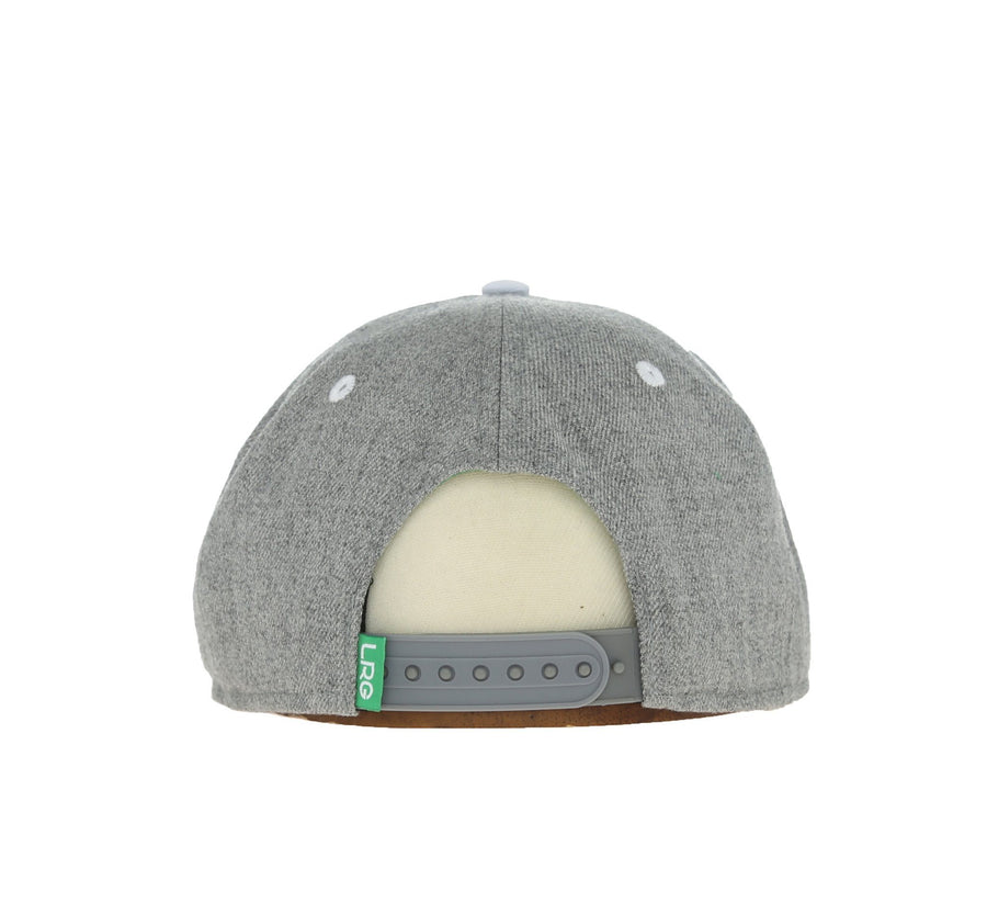 RESEARCH GROUP SNAPBACK, ASH HEATHER