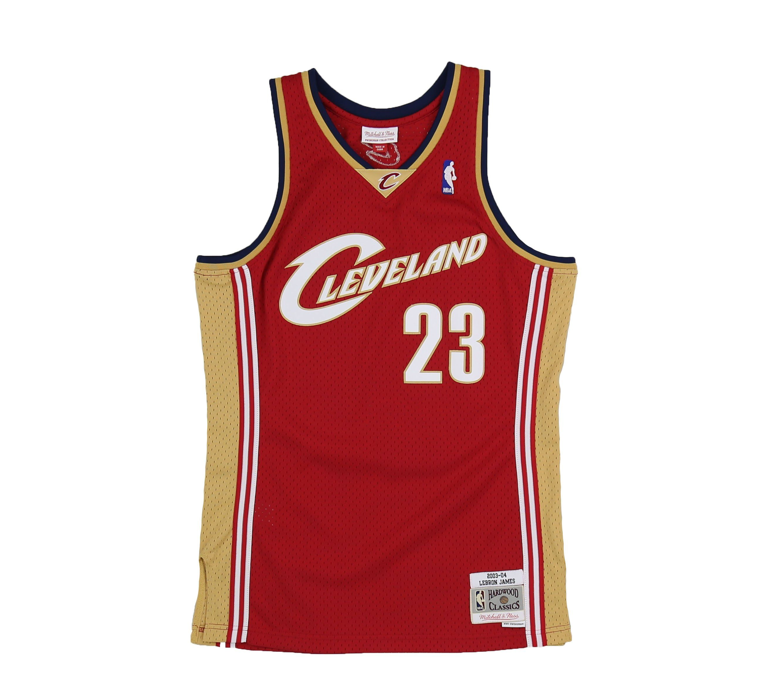 wholesale dealer 5f936 0c9ff CLEVELAND CAVALIERS LEBRON JAMES #23 SWINGMAN JERSEY -