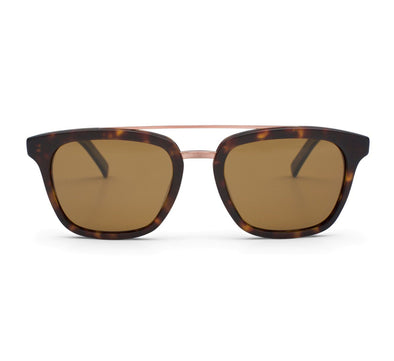 NON FICTION, MATTE DARK TORT / BROWN POLARIZED