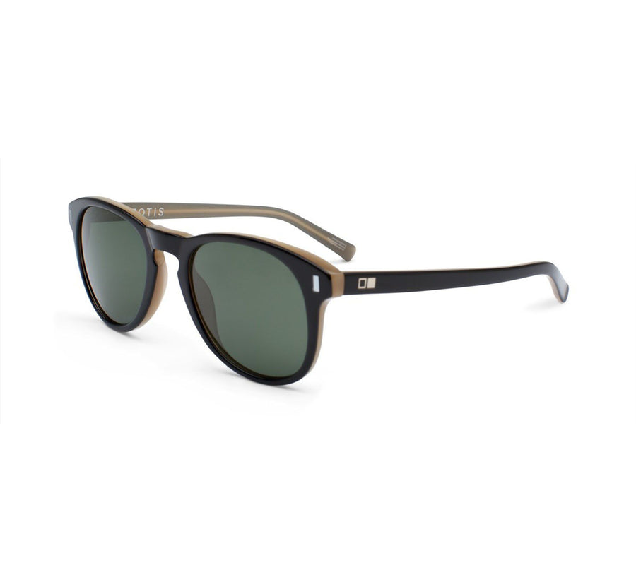 NOWHERE TO RUN, BLACK MATTE TAN / GREY POLARIZED