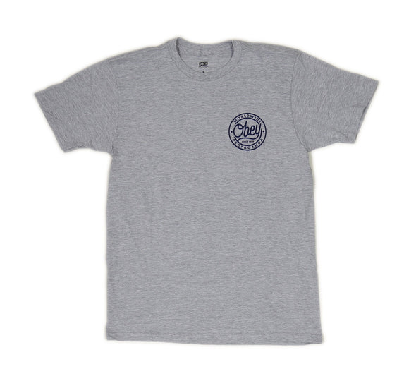 OBEY SINCE 1989 TEE, HEATHER GREY