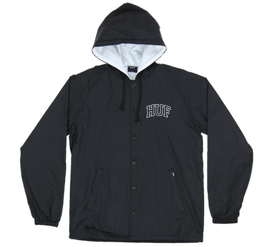 ARCH BLOCK HOODED COACHES JACKET