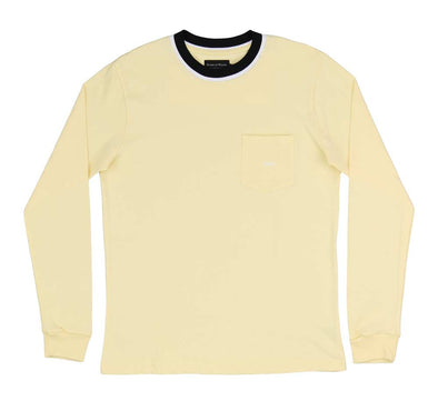 SHATTER LONG SLEEVE POCKET TEE