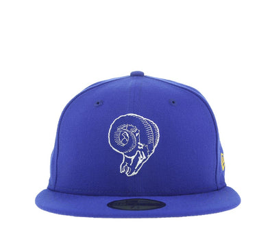 LOS ANGELES RAMS 59FIFTY FITTED CAP