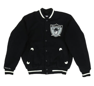 OAKLAND RAIDERS VARSITY JACKET
