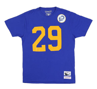 ERIC DICKERSON LA RAMS NAME & NUMBER TEE