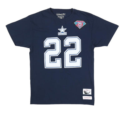 EMMITT SMITH DALLAS COWBOYS NAME & NUMBER TEE