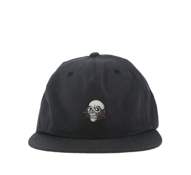 SKULL AND ROSES STRAPBACK CAP