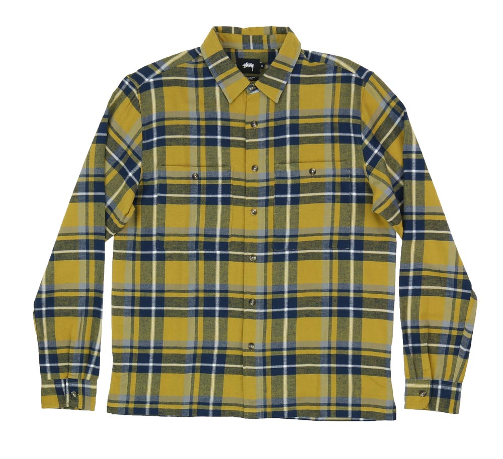 BIG POCKET FLANNEL SHIRT