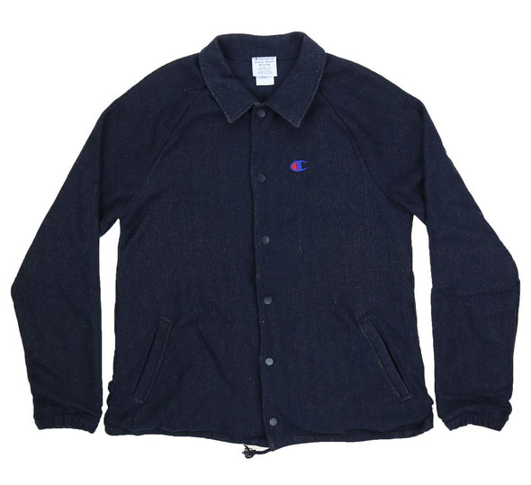 REVERSE WEAVE FRENCH TERRY COACHES JACKET