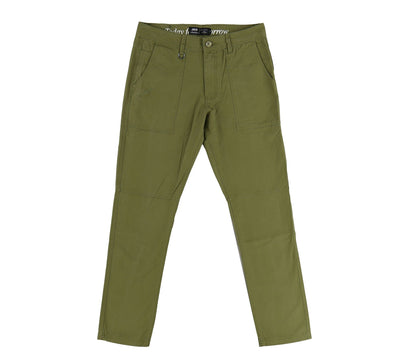 ACKER WOVEN BOTTOMS, OLIVE