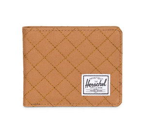 ROY QUILTED WALLET, CARAMEL