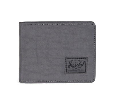 ROY NYLON WALLET, DARK SHADOW WRINKLED NYLON
