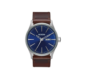 SENTRY LEATHER BLUE/BROWN