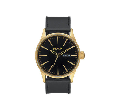 SENTRY LEATHER GOLD/BLACK