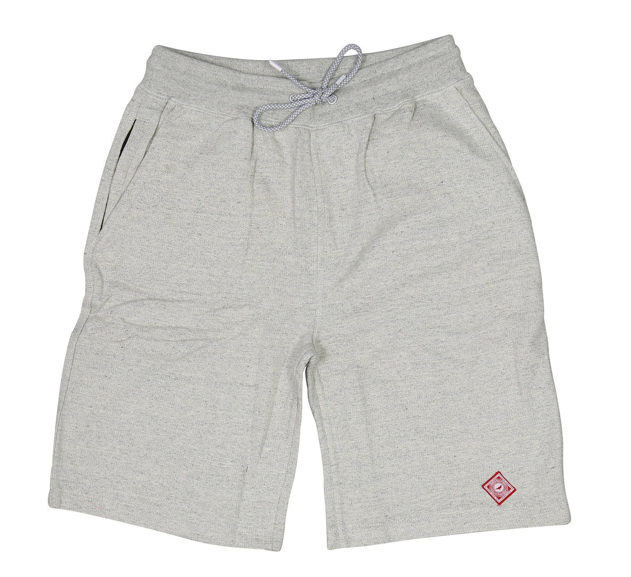 MAP SWEATSHORT, HEATHER
