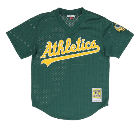 OAKLAND ATHLETICS AUTHENTIC MESH BATTING PRACTICE JERSEY