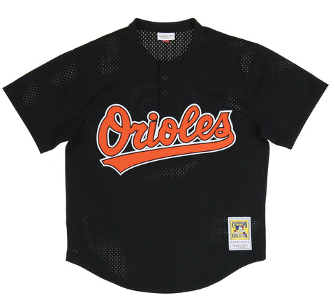 BALTIMORE ORIOLES AUTHENTIC MESH BATTING PRACTICE JERSEY