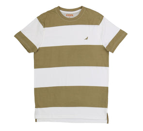 BLOCK STRIPE TEE