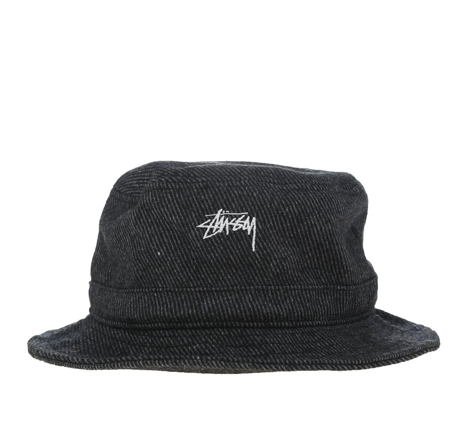 TEXTURED WOOL BUCKET HAT