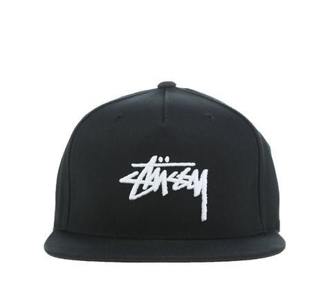 STOCK CAP, BLACK
