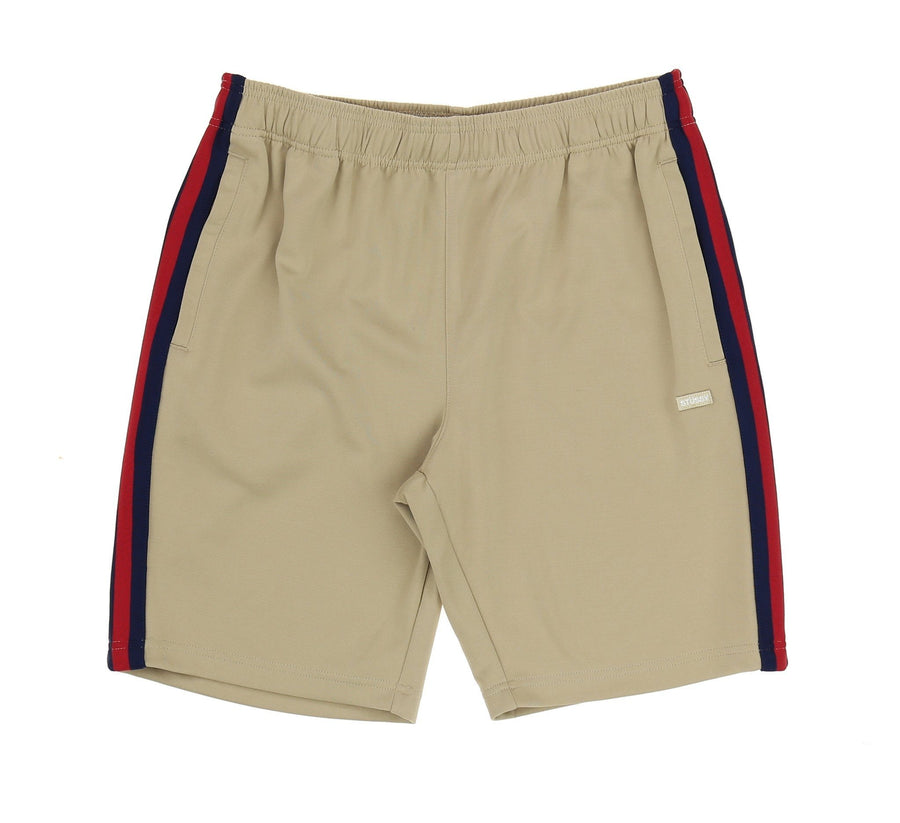 STRIPE RIB TRACK SHORT