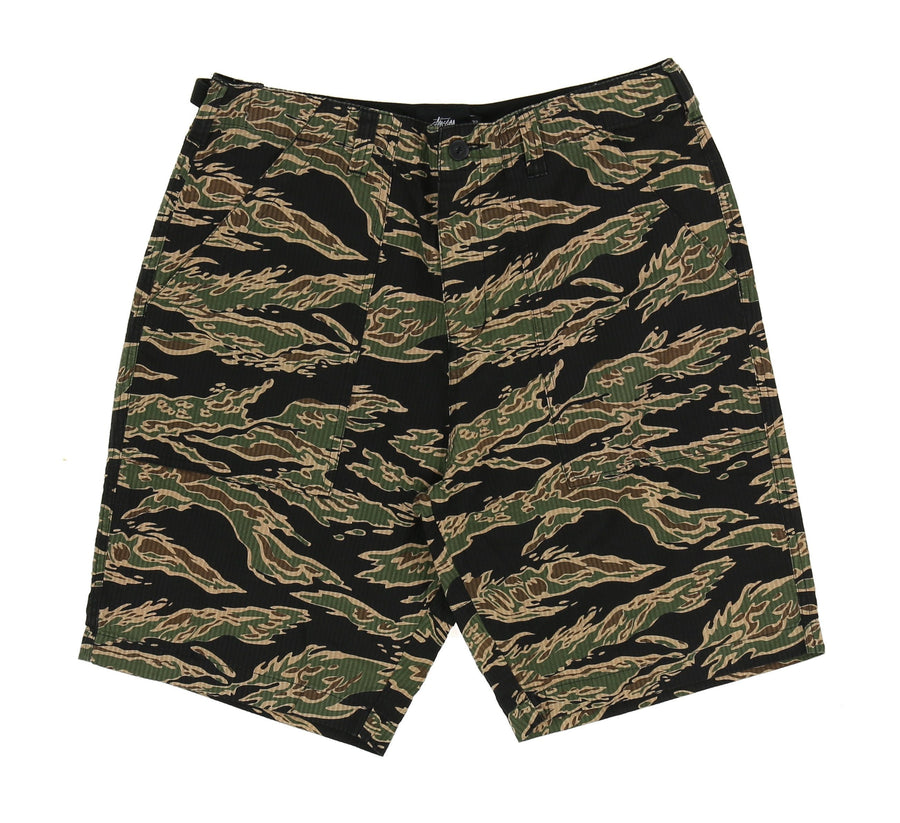 SEERSUCKER MILITARY SHORT