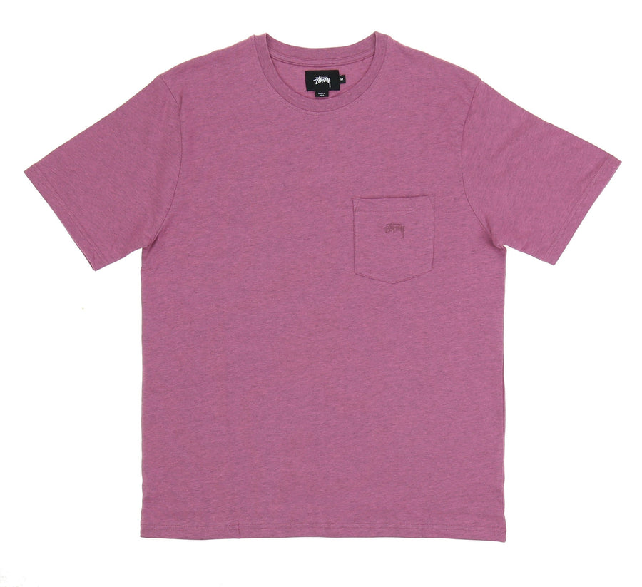 HEATHER O'DYED POCKET TEE