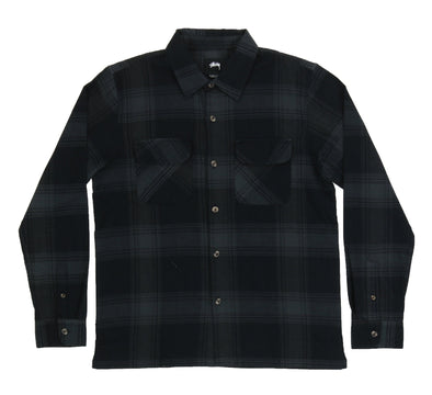 SHADOW PLAID LS SHIRT