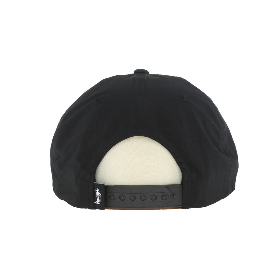 REFLECTIVE TAPE CAP, BLACK