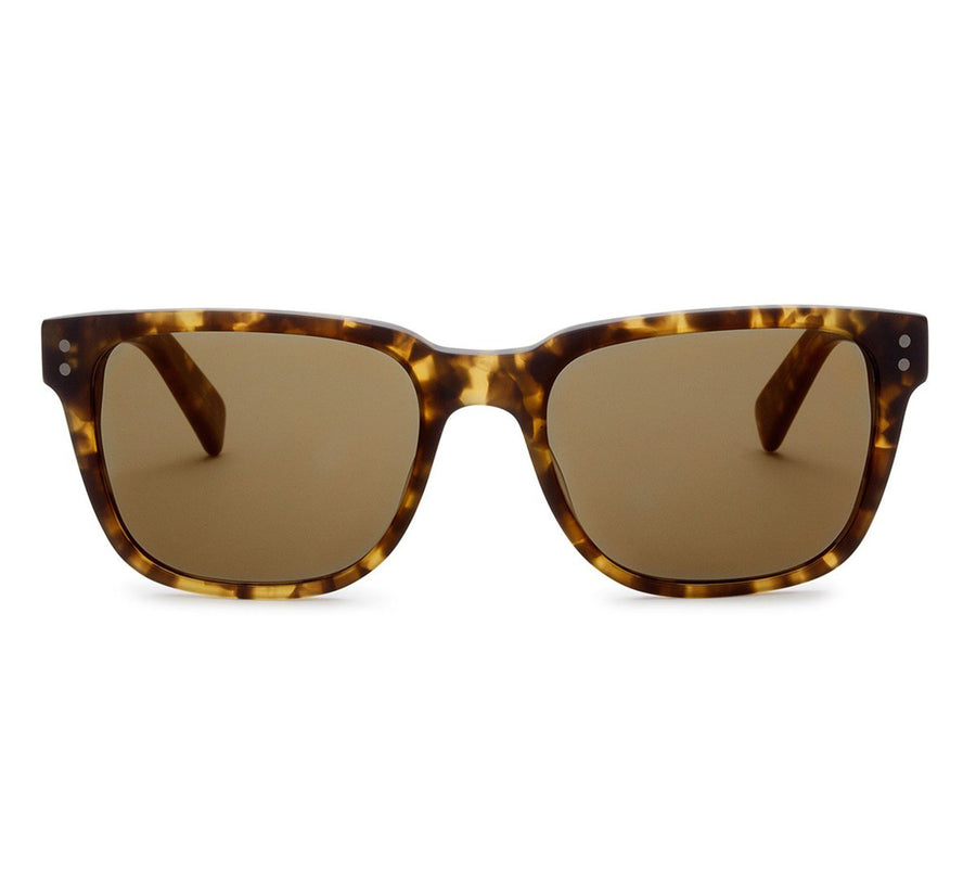 TEST OF TIME, MATTE AMBER TORT / BROWN POLARIZED