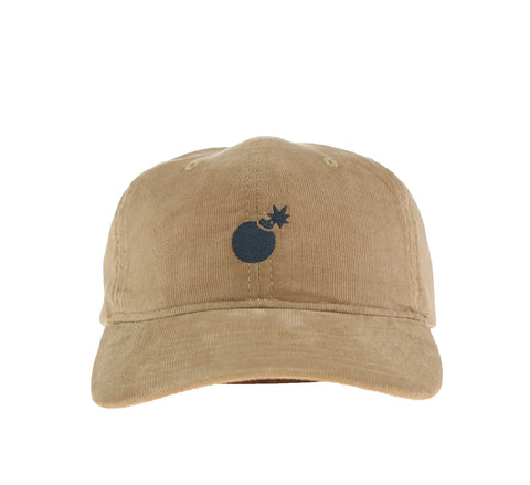 SOLID BOMB DAD HAT, KHAKI