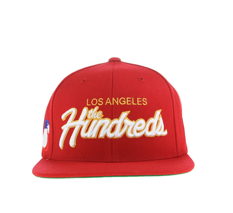 TEAM TWO SNAPBACK, RED