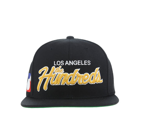TEAM TWO SNAPBACK, BLACK