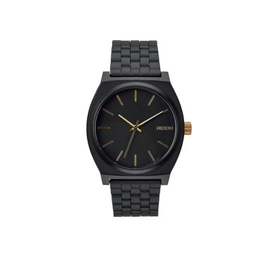 TIME TELLER MATTE BLACK/GOLD
