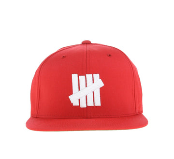 5 STRIKE CAP, RED